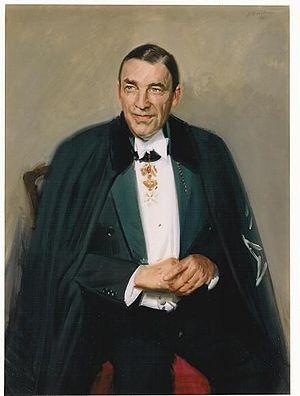 Charles Burke Elbrick - Portrait of Ambassador Charles Burke Elbrick by Andrew Festing, MBE PPRP