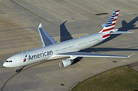 American Airlines Airbus A330-300 at Heathrow.jpg