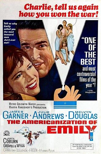 The Americanization of Emily - Image: Americanization of Emily poster