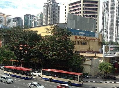 Bagaimana untuk pergi ke Ampang Park dengan pengangkutan awam - Tentang tempat tersebut