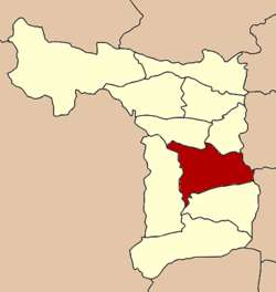 Location in Suphan Buri Province