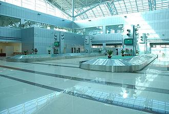 Sri Guru Ram Dass Jee International Airport - Terminal interior