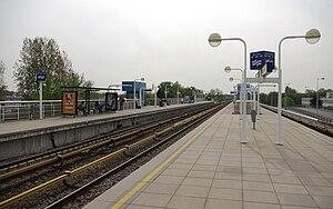 Overamstel metro station - Image: Amsterdam Metrostation Overamstel 001