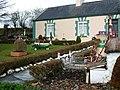 Amusing front garden, Doobehy, County Mayo - geograph.org.uk - 2308182.jpg