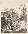 An Old Man Sitting on the Roadside MET DP824237.jpg