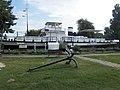 Anchor and a screw propelled steam tug, 2018 Balatonboglár.jpg