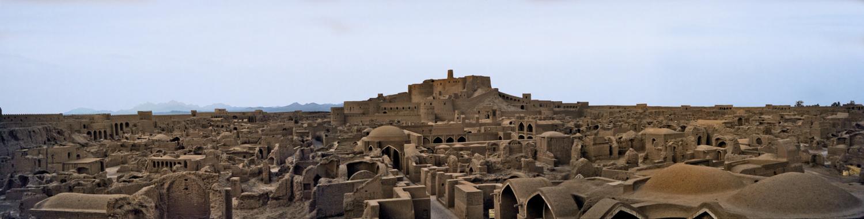 Древний город из самана — Бам на юго-востоке Ирана.