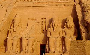Immagine dall'Egitto - Abu Simbel - Ramses II
