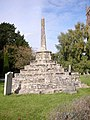Ancient Stone Cross in St. Andrew's Churchyard, Chew Magna, Somerset - geograph.org.uk - 434741.jpg