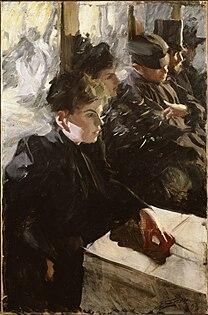 ZORN Anders Omnibus 1891 or 1892