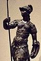 Andiron with statuette of Mars Bronze Venice 1600 CE (802037945).jpg