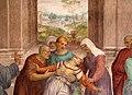 Andrea del Sarto, liberazione di un'indemoniata, 1509-1510, 08.jpg