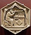 Andrea o nino pisano, jubal ovvero la musica, 1334-43, dal lato ovest del campanile 01.JPG