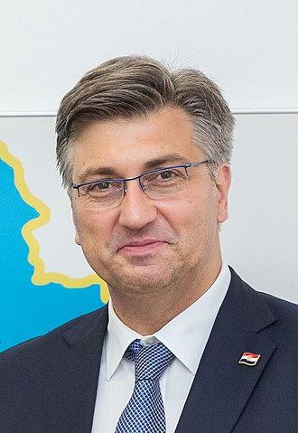 Andrej Plenković - Plenković in 2018