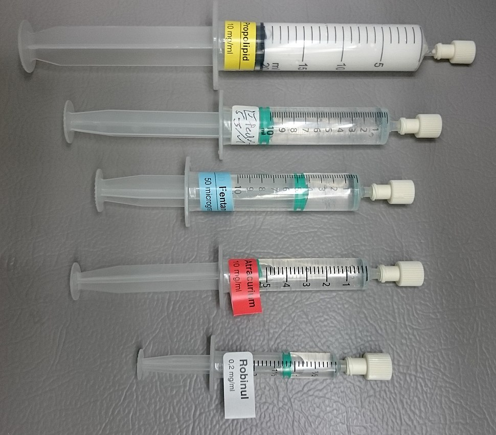 Anesthesia medications