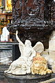 Angel with lion - Pulpits in the Mosque-Cathedral of Córdoba, Spain - DSC07129.JPG