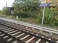 Angersdorf Bahnhof Kilometerstein 9,9.jpg