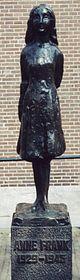 Άγαλμα της Άννας Φρανκ