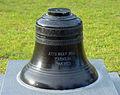 Anne Braw Zell Memorial bell, Coastal College of Georgia, Brunswick, GA, US.jpg