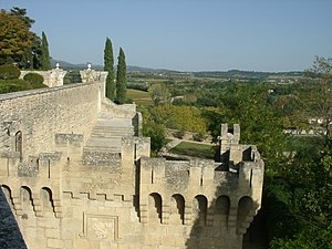 Village perché - Image: Ansouis 7