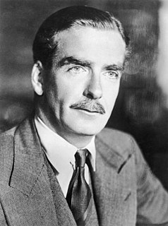 Anthony Eden former Prime Minister of the United Kingdom
