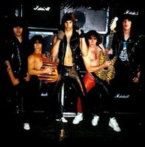 Neil Turbin - Neil Turbin with Anthrax in 1983