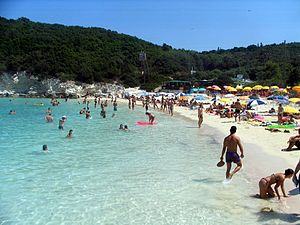 Antipaxos - Vrika Beach