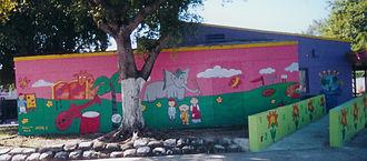 Allapattah - Image: Antonia Gerstacker YMCA Mural