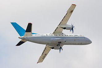 Antonov An-140 - Antonov An-140. Hostomel Airport, Ukraine, 2008