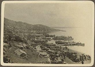 Dardanelles - Image: Anzac Beach 1915