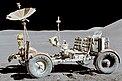 Mașina electrică lăsată pe lună din misiunea Apollo 15