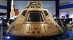Apollo 11 Command Module at Space Center Houston 2017.jpg
