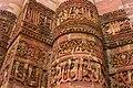 Arabic words carved into the Qutb Minar.jpg