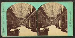 Timeline of Providence, Rhode Island - Arcade, Providence, 19th century