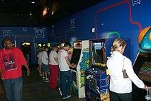 Sala giochi dei primi anni 2000.