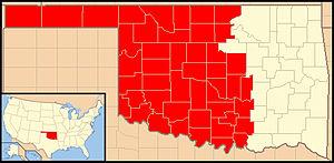Roman Catholic Archdiocese of Oklahoma City - Image: Archdiocese of Oklahoma City