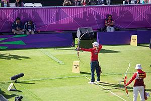Khatuna Lorig - Image: Archery at the 2012 Summer Olympics (8142512216)