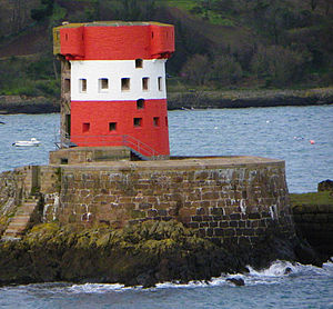 Coastal fortifications of Jersey - Archirondel tower, Jersey