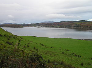 Ardfern - View of Ardfern, Scotland From the A816 Road