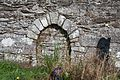 Ardmore Cathedral Nave South Wall Blocked Doorway 2015 09 15.jpg