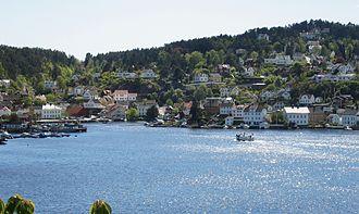 Hisøy - Image: Arendal Kolbjørnsvik c