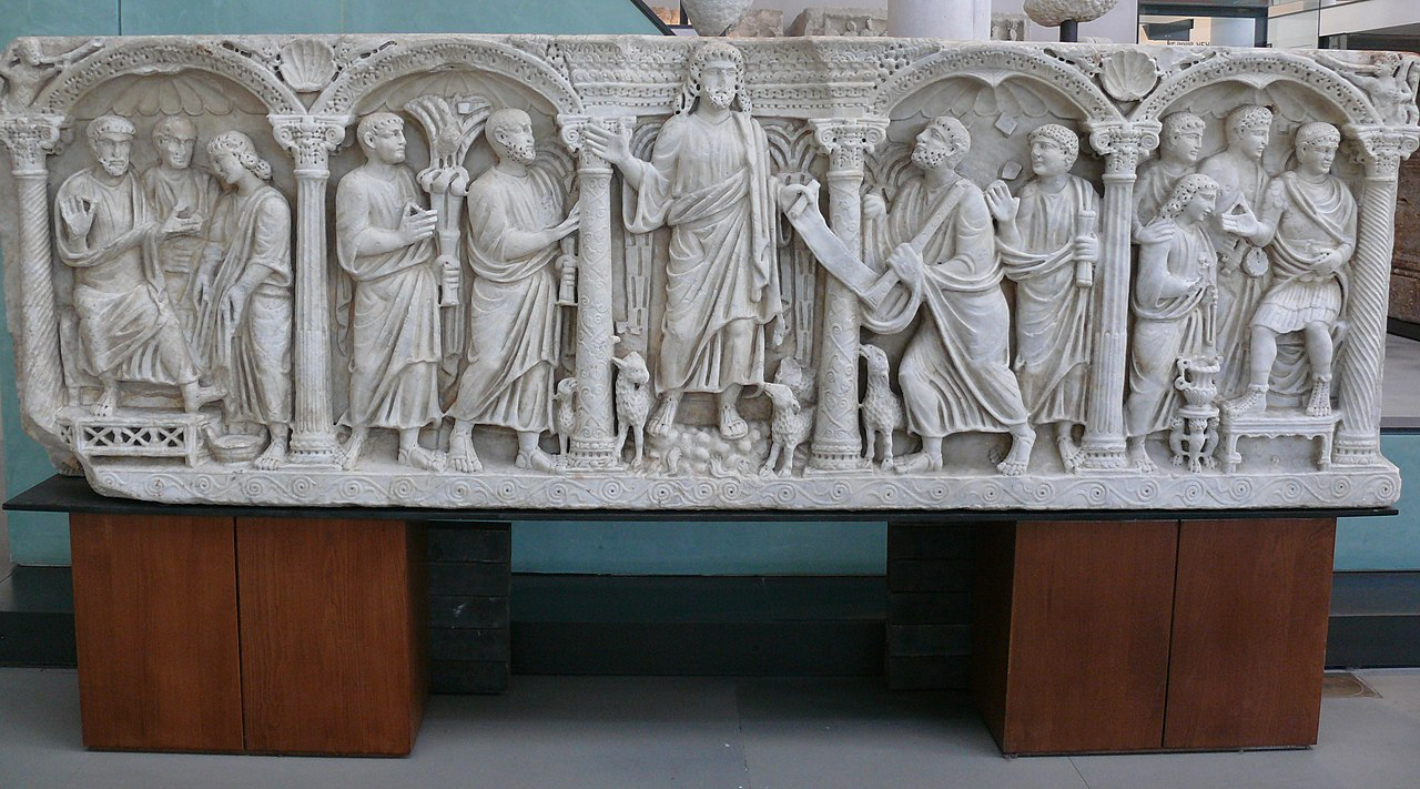 File arles sarcophagus with wikimedia commons - Staat van arles ...