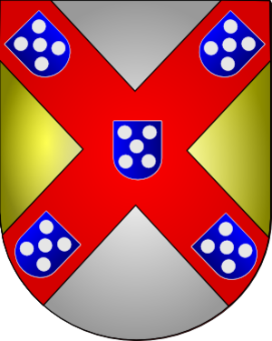 Count of Faro - Coat of Arms of Afonso of Braganza, 1st Count of Faro.