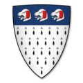 Armorial Bearings of the BARROLL family of Mansel Lacy, Herefordshire.png