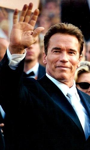Arnold Schwarzenegger, 2003 Cannes film festival