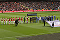 Arsenal v Chelsea Line Up 1 (7100423505).jpg