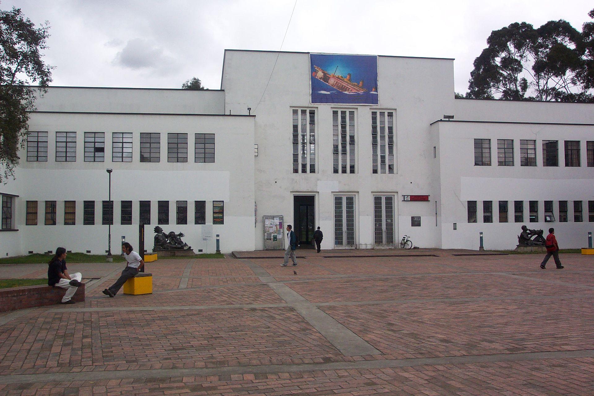 Facultad de artes unal bogot wikipedia la for Universidad de arte
