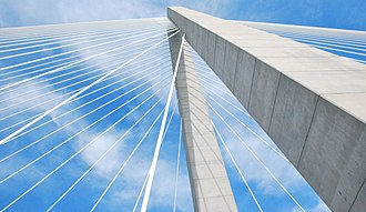 Arthur Ravenel Jr. Bridge - One of the two towers.