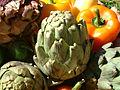 Artichoke, peppers, DSCF1626.jpg