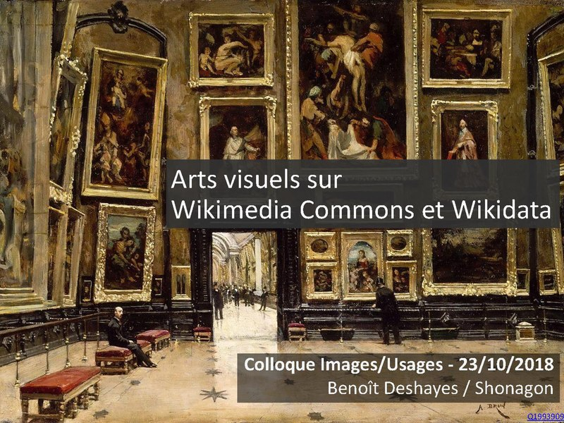 File:Arts visuels Wikidata Commons - Colloque Images usages - INHA.pdf